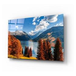 Skleněný obraz Insigne Lake View,110 x70cm