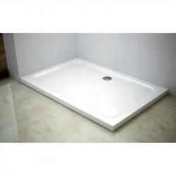 Sprchová vanička obdelníková MEXEN SLIM 140x100 cm + sifon