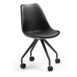 Černá kancelářská židle La Forma Lars