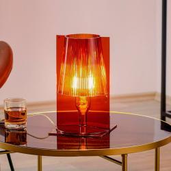 Kartell Kartell Take stolní lampa, jantarová