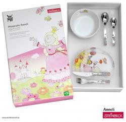 WMF Dětský jídelní set 6dílný Princezna Anneli