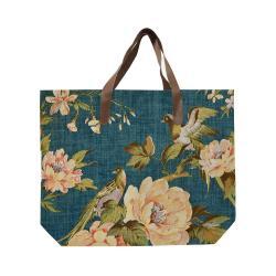 Plátěná taška s uchem z imitace kůže Surdic Paradise