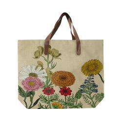 Plátěná taška s uchem z imitace kůže Surdic Botanica