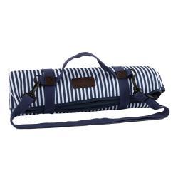 Modro-bílá pikniková deka Navigate