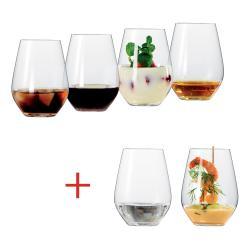 Set 6 univerzálních sklenic L Authentis Casual