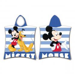 Jerry Fabrics Dětské pončo Mickey stripe, 50 x 115 cm
