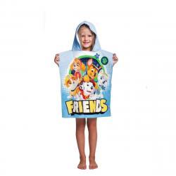 Jerry Fabrics Dětské pončo Paw Patrol 259, 50 x 115 cm