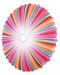 Axo light PLMUSE80MCXXE27 Muse, designové svítidlo z multicolor textilu, 3x70W, prům. 80cm