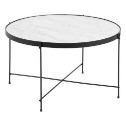 Konferenční stolek s oboustrannou deskou Actona Andovre,ø70cm