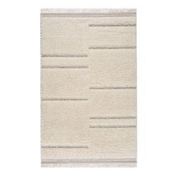Béžový koberec Universal Kai Stripe, 75 x 155 cm