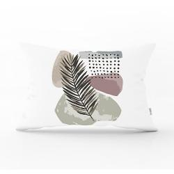 Povlak na polštář Minimalist Cushion Covers Post Modern Leaf, 35 x 55 cm