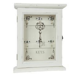 Clayre & Eef Skříňka na klíče - 25*8*32 cm