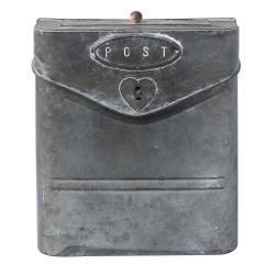 Clayre & Eef Poštovní retro schránka - 24*8*29 cm