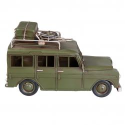 Clayre & Eef Retro model auta na safari - 25*12*14 cm