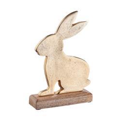 EASTER Dekorační zajíc - zlatá