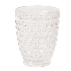 Clayre & Eef Transparentní sklenice na vodu - Ø 8*10 cm