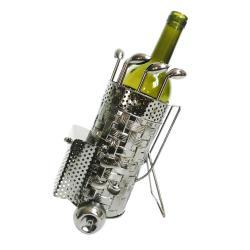 Clayre & Eef Kovový držák na víno v designu golfového bagu Chevalier - 20*13*24 cm