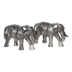 Clayre & Eef Sada slánky a pepřenky v designu slonů Argent