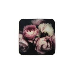 Mars & More  6ks pevné korkové podtácky s růžemi Vintage Roses - 10*10*0,4cm
