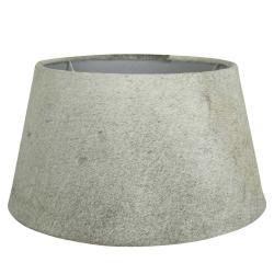 Mars & More  Kožené šedé stínidlo Taurus - 50*40*26cm