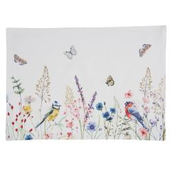 Clayre & Eef Sada 6ks bavlněné prostírání So Floral  - 48*33 cm