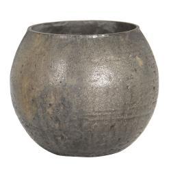Clayre & Eef Skleněný svícen na čajovou svíčku Odette - Ø 8*9 cm