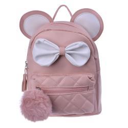 Clayre & Eef Béžový batoh s ušima Thiery - 21*11*23 cm