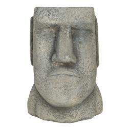 Clayre & Eef Květináč v designu hlavy muže Diriger - 11*10*16 cm