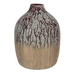 Clayre & Eef Barevná designová váza Holly - Ø 12*16 cm