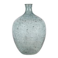 Clayre & Eef Modře tónovaná skleněná váza Belén - 27*41 cm