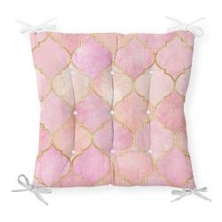Podsedák s příměsí bavlny Minimalist Cushion Covers Pinky Oriental,40x40cm