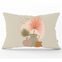 Povlak na polštář Minimalist Cushion Covers Pastel Color Flower, 35 x 55 cm
