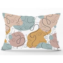 Povlak na polštář Minimalist Cushion Covers Drawing Art Rectangle, 35 x 55 cm