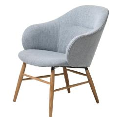Šedé křeslo Unique Furniture Teno