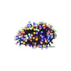 Barevný venkovní světelný LED řetěz Best Season Berry Mini, 300 světýlek