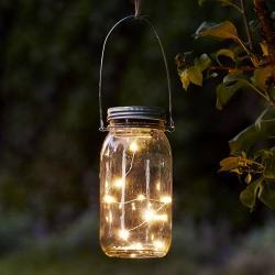 Best Season Jamjar - pěkné skleněné solární dekorační světlo