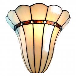 Clayre & Eef Nástěnné světlo 6015 ve vzhledu Tiffany