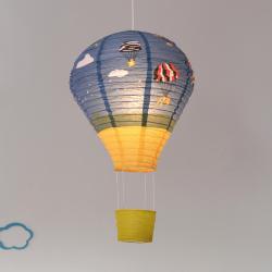 Näve Závěsné světlo Ballon z rýžového papíru