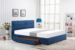 Hector Čalouněná postel Apato 160x200 dvoulůžko - modré