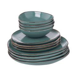 FINCA Sada nádobí 12 ks - modrá