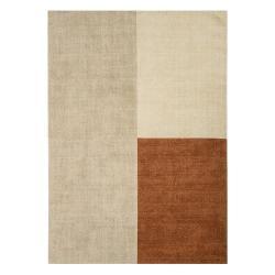 Béžovo-hnědý koberec Asiatic Carpets Blox, 200 x 300 cm
