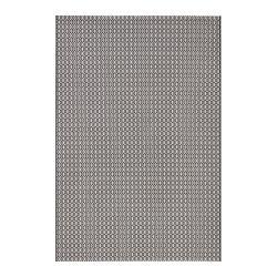 Černo-bílý venkovní koberec Bougari Coin, 80x150cm