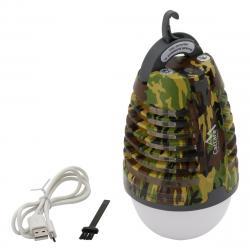 Cattara Nabíjecí svítilna s lapačem hmyzu Pear army, 70 lm