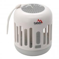 Cattara Nabíjecí bluetooth svítilna s lapačem hmyzu Music cage, 60 lm