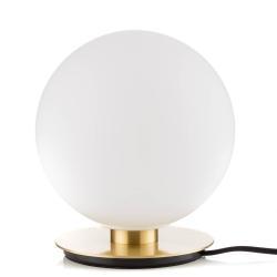 MENU Menu TR Bulb stolní lampa 22cm mosaz/opálová matná
