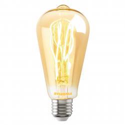 Sylvania LED žárovka E27 ToLEDo Vintage ST64 dim 5,5W zlatá