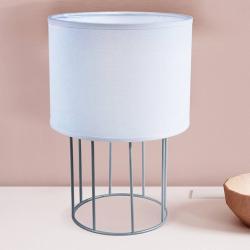 DUOLLA Stolní lampa Carla S, bílá