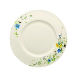 Jídelní talíř Rosenthal Brillance Fleurs des Alpes, 28 cm