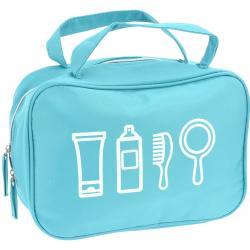 Kosmetická taštička Cosmetic essentials, světle modrá