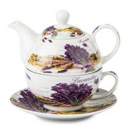 3dílný čajový set Levandule